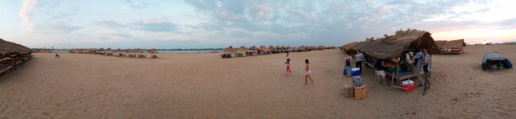 カンボジアのコンポンチャムにある島