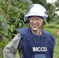 カンボジアで地雷探知に貢献したネズミに金メダルが送られた
